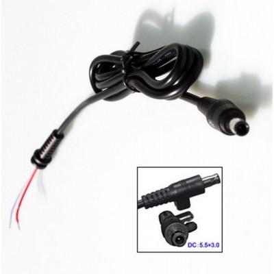 DC кабель питания для БП Samsung 3 pin разъем 5.5x3.0 мм