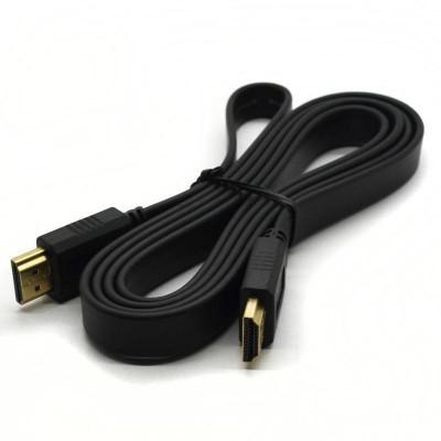 Кабель HDMI-HDMI FLAT (V1.4) плоский