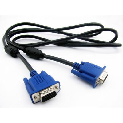 Шнур VGA 1.5M, шнур для монитора vga, кабель переходник