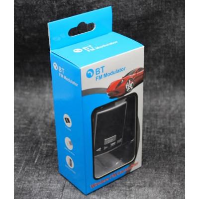 FM трансмиттер с поддержкой блютус, hands free для автомобиля