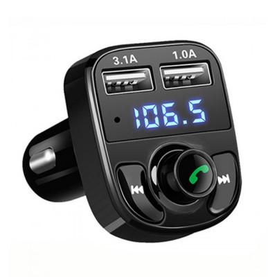 FM  трансмиттер автомобильный  CAR X8 BT