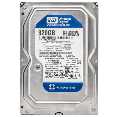 Жесткий диск WD, Seagate 320Gb SATA, HDD, 6 месяцев гарантии, новый