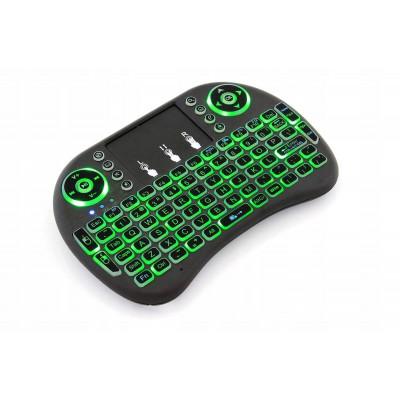 Беспроводная клавиатура с подсветкой MWK08/i8 LED