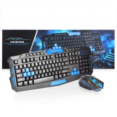 Беспроводная игровая клавиатура и мышь HK-8100