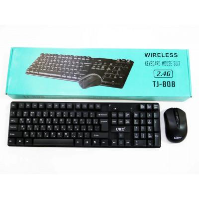 Беспроводная клавиатура + мышь TJ-808