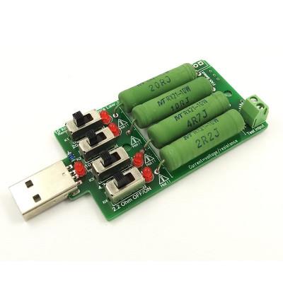 USB резистор с наборным сопротивлением до 4A