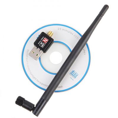 USB WI-FI адаптер с антенной 802.11n/b/g