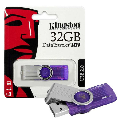 Флешка 32 Гб USB, от производителя Kingston, Transcend, SanDisk