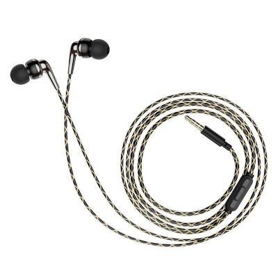 Hoco M71 оригінальні вакуумні навушники з мікрофоном