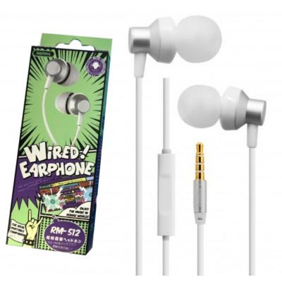Навушники Remax RM-512 найкращий вибір для щоденного використання