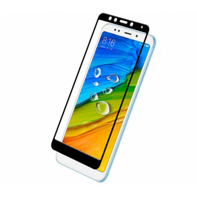 Защитное стекло 2.5D Xiaomi Redmi 5, Full Glue