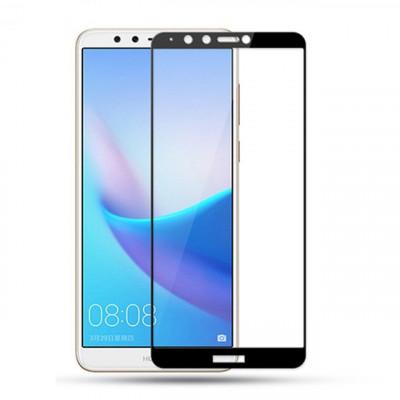 Защитное стекло Huawei Y7 (2018) 2.5D Full Screen