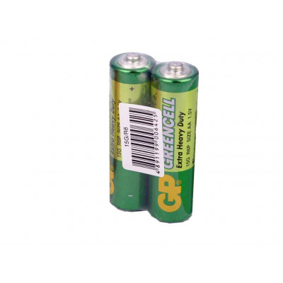 Батарейка GP GREENCELL Extra Heavy Duty 15G S2 (R6P, size AA 1.5V)