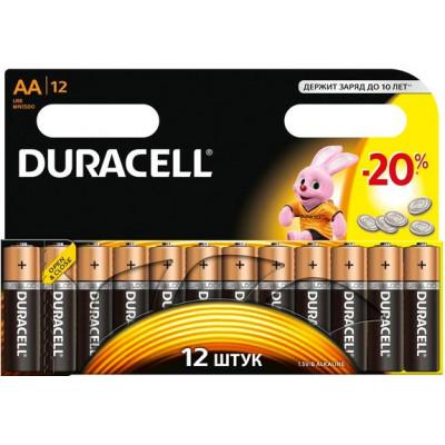 Батарейка Duracell LR06 AA MN1500