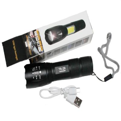 Bailong BL-29-Т6 металлический, яркий светодиодный фонарь