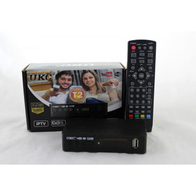 Т2 тюнер с интернетом, Megogo IPTV, Youtube и внешним блоком питания