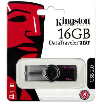 Флешка Kingston DT 101, 16 Гб