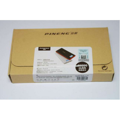 Power Bank PINENG PN-968 имеет дисплей с отображение емкости