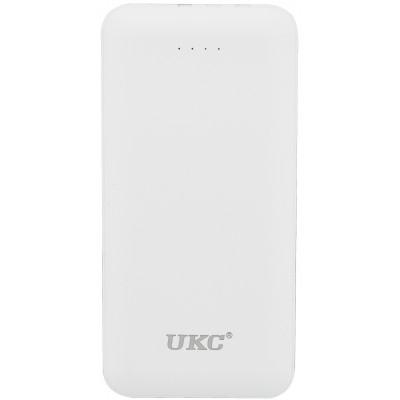 Power Bank UKC LP303 с встроенным кабелем зарядки, 10000 mAh