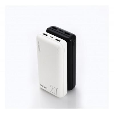 Power Bank Sertec ST-2066,  20000 mAh (реальная емкость)