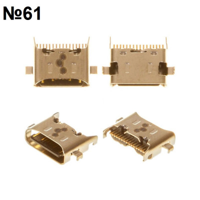 Оригинальный разъем Samsung A21, A20S Type-C №61