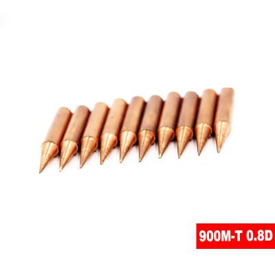 Жало для паяльника 900M-T 0.8D, медь