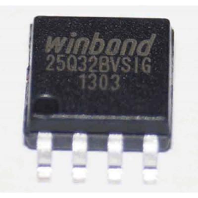 Флэш-память Winbond 25Q32BVSIG - 3.3V, 32Мбит, SPI, [SO-8]