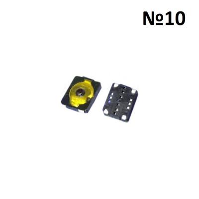 Кнопка включения 2.4x2.8x0.6 мм, №10