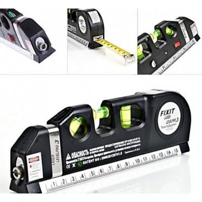 Лазерный уровень с рулеткой FIXIT Laser LEVELPRO3