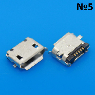 Micro usb разъем №5 Alcatel, Fly, HP, Motorola, Nokia, OPPO