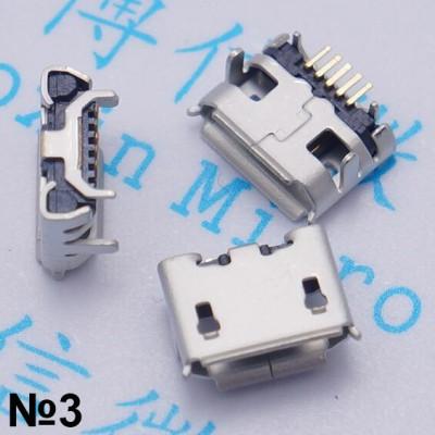 Разъем микро usb №03 Coolpad, ZTE, Lenovo