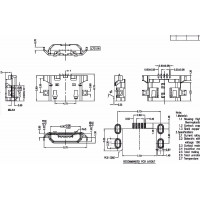 Роз'єми micro USB Lenovo, FLY, Gsmart - №04
