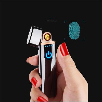 USB зажигалка Lighter 4, спиральная с индикатором